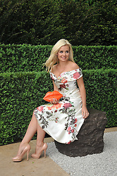KATHERINE JENKINS at the RHS Chelsea Flower Show 2009 held inthe gardens of the Royal Hospital Chelsea on 18th May 2009.