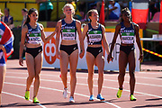 French Team competes in 4X100 Metres Relay Women during the IAAF World U20 Championships 2018 at Tampere in Finland, Day 5, on July 14, 2018 - Photo Julien Crosnier / KMSP / ProSportsImages / DPPI