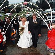 Juf Peeper van de van Brugghenschool Huizen trouwt