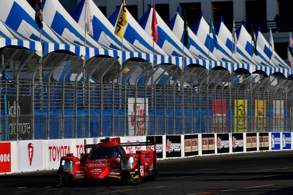 #99 JDC/Miller Motorsports ORECA 07, P: Stephen Simpson, Mikhail Goikhberg<br /> Friday 13 April 2018<br /> BUBBA burger Sports Car Grand Prix at Long Beach<br /> Verizon IndyCar Series<br /> Streets of Long Beach CA USA<br /> World Copyright: Scott R LePage<br /> LAT Images