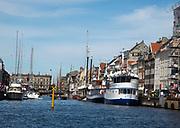 Nyhavn harbour, Copenhagen, Denmark.