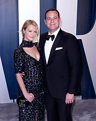 February 9, 2020, Beverly Hills, CA, USA: BEVERLY HILLS, CALIFORNIA - FEBRUARY 9: Kelly Sawyer Patricof, Jamie Patricof attends the 2020 Vanity Fair Oscar Party at Wallis Annenberg Center for the Performing Arts on February 9, 2020 in Beverly Hills, California. Photo: CraSH/imageSPACE (Credit Image: © Imagespace via ZUMA Wire)