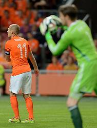 04-06-2014 NED: Vriendschappelijk Nederland - Wales, Amsterdam<br /> Nederland wint met 2-0 van Wales / Arjen Robben