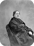 Gioachino Rossini, 1792-1868, Italian composer and writer of operas, photograph c. 1880 by Gaspard-Felix Tournachon, known as Nadar, 1820-1910, French photographer. Copyright © Collection Particuliere Tropmi / Manuel Cohen