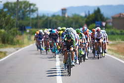 Rossella Ratto (ITA) leads the chase at Giro Rosa 2018 - Stage 4, a 109 km road race starting and finishing in Piacenza, Italy on July 9, 2018. Photo by Sean Robinson/velofocus.com