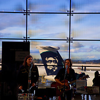 Christy McWilson & Blackie at SeaTac