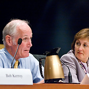 "Panel: FAA Response on 9/11. The 9/11 Commission's 12th public hearing on ""The 9/11 Plot"" and ""National Crisis Management"" was held June 16-17, 2004, in Washington, DC."