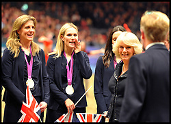 Camilla, Duchess of Cornwall during London International Horse show at Olympia, London, Britain, December 19, 2012. Photo by i-Images.