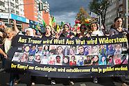Suruç terror attack rally, Berlin