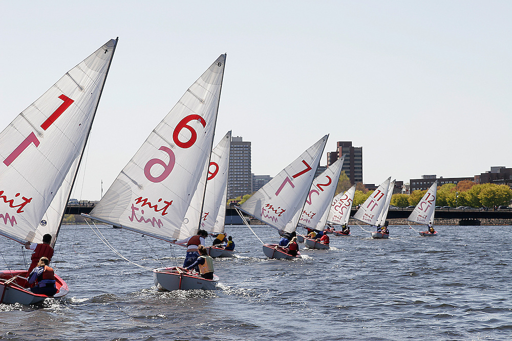 College Sailing Regatta at MIT - Cambridge, MA (Charles River)
