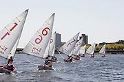 College Sailing Regatta at MIT - Cambridge, MA (Charles River)