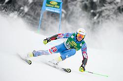 Adam Zampa of Slovakia competes during 1st run of Men's GiantSlalom race of FIS Alpine Ski World Cup 57th Vitranc Cup 2018, on March 3, 2018 in Kranjska Gora, Slovenia. Photo by Ziga Zupan / Sportida