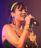 Lily Allen Bush Hall 17th July 2006