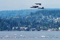 Blue Angels Perform over Lake Washington