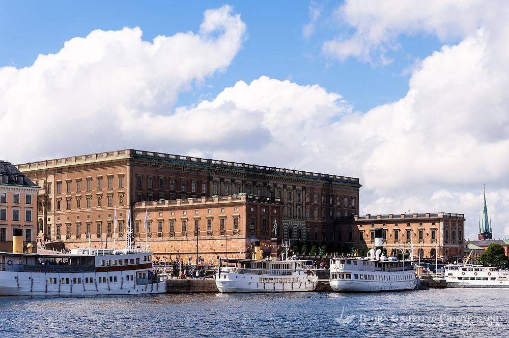 Sweden, Stockholm. The Royal Castle.