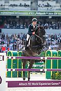 Rolf Goran Bengtsson - Cortes C<br /> Alltech FEI World Equestrian Games™ 2014 - Normandy, France.<br /> © DigiShots - Jon Stroud
