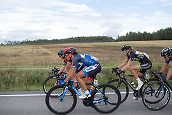Anna Badegruber (AUT) of Team WNT works hard to close the gap after the crosswinds on Stage 2 of the Ladies Tour of Norway - a 140.4 km road race, between Sarpsborg and Fredrikstad on August 19, 2017, in Ostfold, Norway. (Photo by Balint Hamvas/Velofocus.com)