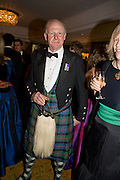 ARTHUR BLAIR, The Royal Caledonian Ball 2008. In aid of the Royal Caledonian Ball Trust. Grosvenor House. London. 2 May 2008.  *** Local Caption *** -DO NOT ARCHIVE-? Copyright Photograph by Dafydd Jones. 248 Clapham Rd. London SW9 0PZ. Tel 0207 820 0771. www.dafjones.com.