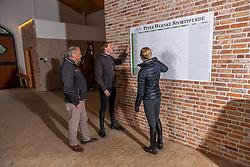 WERNKE Peter, WERNKE Jan<br /> Stalltafel<br /> Holdorf - Homestory Jan Wernke 2020<br /> www.sportfotos-lafrentz.de/Stefan Lafrentz<br /> 19. Februar 2020