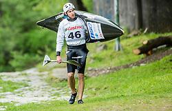 Simon Brus during Kayak and Canoe Slalom Slovenian Championship 2016 race, on April 24, 2016 in Tacen, Ljubljana, Slovenia. Photo by Vid Ponikvar / Sportida
