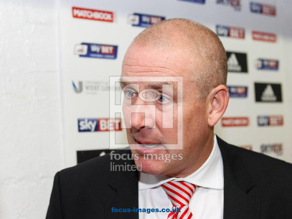 Brentford Manager Mark Warburton after the Sky Bet Championship match between Brentford and Derby County at Griffin Park, London<br /> Picture by Mark D Fuller/Focus Images Ltd +44 7774 216216<br /> 01/11/2014