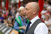 Queens Park Rangers head coach Ian Holloway during the EFL Sky Bet Championship match between Brentford and Queens Park Rangers at Griffin Park, London, England on 21 April 2018. Picture by Andy Walter.