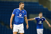 Ian Evatt of Chesterfield during the EFL Trophy match between Chesterfield and Bradford City at the b2net stadium, Chesterfield, England on 29 August 2017. Photo by Paul Thompson.