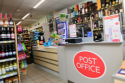 General view of the inside of Harpole Post Office inside Harpole Village Store.<br /> <br /> Chris Heaton-Harris MP has officially opened the new Harpole Post Office at Harpole Village Store in High Street, Harpole, Northampton.<br /> <br /> Date: November 10, 2017