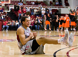 December 16, 2009; Stanford, CA, USA;  Stanford Cardinal guard/forward Landry Fields (2) reacts after forward Andrew Zimmermann (not pictured) missed the gaming winning shot against the Oklahoma State Cowboys during the second half at Maples Pavilion.  Oklahoma State defeated Stanford 71-70.