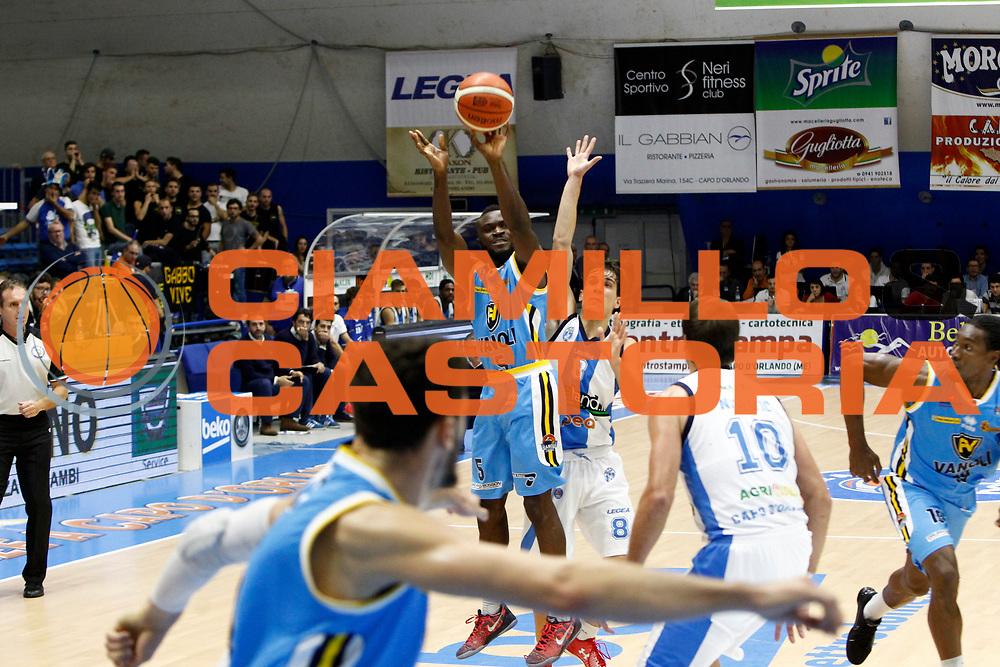 DESCRIZIONE : Capo dOrlando Lega A 2015-16 Betaland Orlandina Basket Vanoli Cremona<br /> GIOCATORE : Ogooluwa Adegboye<br /> CATEGORIA : Tiro Three Point<br /> SQUADRA : Betaland Orlandina Basket<br /> EVENTO : Campionato Lega A Beko 2015-2016 <br /> GARA : Betaland Orlandina Basket Vanoli Cremona<br /> DATA : 15/11/2015<br /> SPORT : Pallacanestro <br /> AUTORE : Agenzia Ciamillo-Castoria/G.Pappalardo<br /> Galleria : Lega Basket A Beko 2015-2016<br /> Fotonotizia : Capo dOrlando Lega A Beko 2015-16 Betaland Orlandina Basket Vanoli Cremona