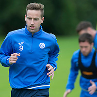 St Johnstone Pre-Season Training in Northern Ireland.. 08.07.16<br />Steven MacLean<br />Picture by Graeme Hart.<br />Copyright Perthshire Picture Agency<br />Tel: 01738 623350  Mobile: 07990 594431