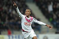 Fotball<br /> Frankrike<br /> Foto: Panoramic/Digitalsport<br /> NORWAY ONLY<br /> <br /> joie de Diego Rolan apres son premier but (Bordeaux)