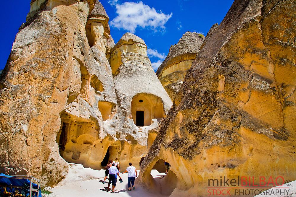 Fairy chimneys. Pasa Bagi. Cappadocia, Turkey.