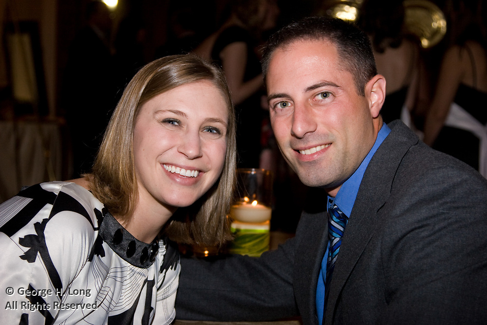 The wedding of Carrie Comeaux and Anthony Watson at St. George's Episcopal Church; reception at Audubon Tea Room; January 5, 2008