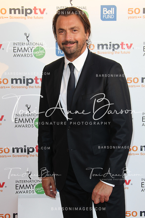 CANNES, FRANCE - APRIL 08: Henri Leconte arrives at the MIPTV 50th Anniversary : Opening Party at the Martinez Hotel on April 8, 2013 in Cannes, France.  (Photo by Tony Barson/Getty Images)