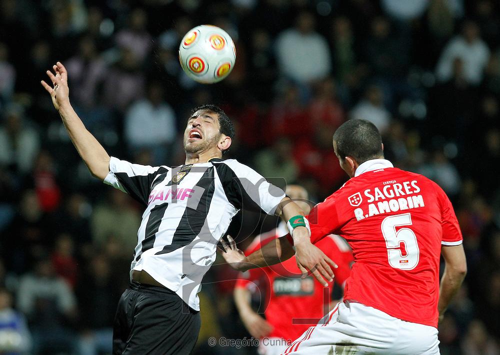 Liga Portuguesa de Futebol, Estadio da Madeira.Nacional vs Benfica.Halliche Ruben Amorim.Foto Gregorio Cunha