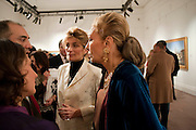 MARYAM SACHS; EMPRESS FARAH PAHLAVI OF IRAN, Book launch for ' art and Patronage: The Middle East' at Sotheby's. London. 22 November 2010. -DO NOT ARCHIVE-© Copyright Photograph by Dafydd Jones. 248 Clapham Rd. London SW9 0PZ. Tel 0207 820 0771. www.dafjones.com.