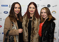 13/11/2015 Repro free   Lisa Mooney, Siobhan Cryan and Sarah Molloy from Panny's at Galway Glamour  by Galway Shopping Centre at the g Hotel hosted by Sile Seoige  <br /> Photo:Andrew Downes, xposure.