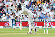 Ishant Sharma of India batting during second day of the Specsavers International Test Match 2018 match between England and India at Edgbaston, Birmingham, United Kingdom on 2 August 2018. Picture by Graham Hunt.