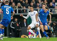 Carlos Zeca (FC København) og Volodymyr Shepeliev (Dynamo Kiev) under kampen i UEFA Europa League mellem FC København og Dynamo Kiev den 7. november 2019 i Telia Parken (Foto: Claus Birch).