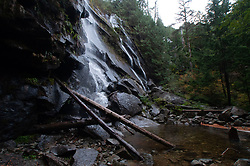 Little Bridal Veil Falls, Lake Serene Trail, Mt. Baker-Snoqualmie National Forest, Washington, US