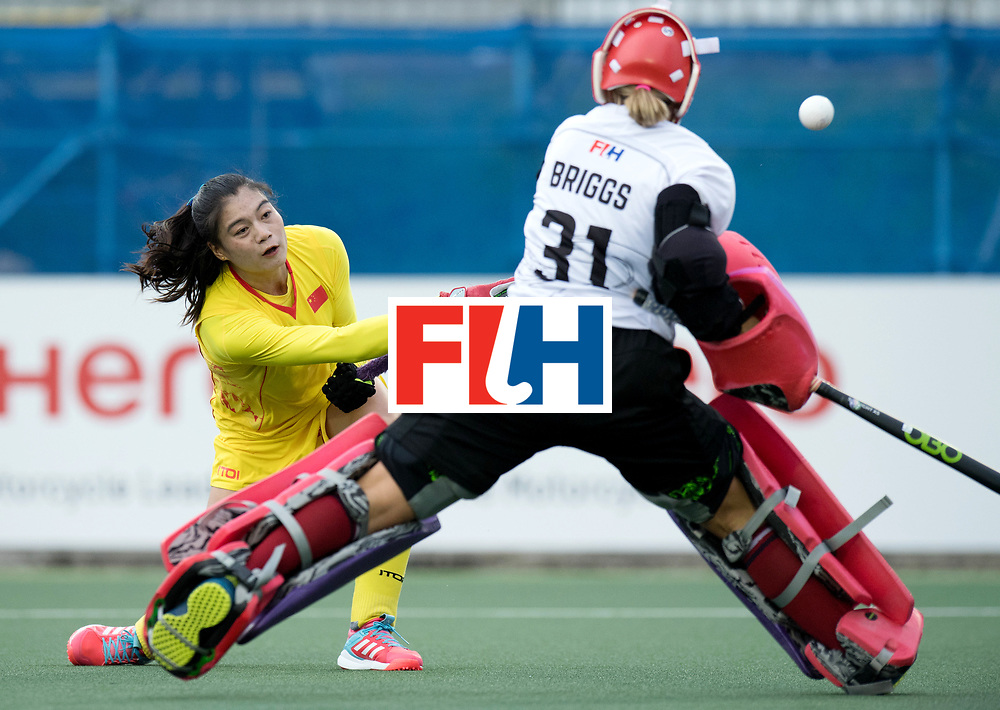 AUCKLAND - Sentinel Hockey World League final women<br /> Match id: 10309<br /> 19 USA v CHN (Losing Q/Finalists Match)<br /> Foto:WORLDSPORTPICS COPYRIGHT FRANK UIJLENBROEK