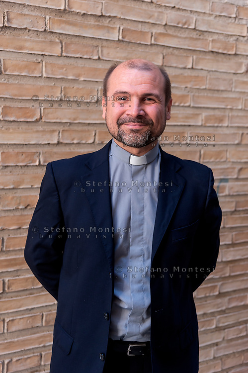 ROME, ITALY - OCTOBER 20: Benoni Ambarus, new director of the diocesan Caritas of Rome on October 20, 2018 in Rome, Italy.