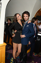 SASHA VOLKOVA and MARK-FRANCIS VANDELLI at Tatler Magazine's Little Black Book Party held at Annabel's, Berkeley Square, London on 5th November 2013.