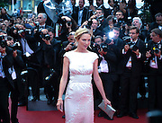 Uma Thurman  arrives on the red carpet for the premiere of Pirates Of The Caribbean: On Stranger Tides  at the Festival Des Palais  during the 64th Cannes Film Festival in Cannes, France sat may 14May 2011.
