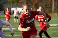 Belmont versus Campbell in semi final soccer tournament at Laconia High School.   ©2016 Karen Bobotas Photographer