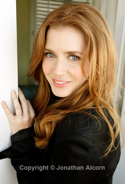 Actress AMY ADAMS portrait session on thr day she was nominated for Golden Globe her role as a nun in 'Doubt' photographed at the Four Seasons Hotel in November , 2008