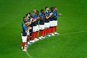 French team had a minute of honneur for death of the french player Roger Piantoni during the FIFA Friendly Game football match between France and Republic of Ireland on May 28, 2018 at Stade de France in Saint-Denis near Paris, France - Photo Stephane Allaman / ProSportsImages / DPPI