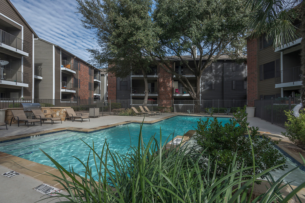 Photograph of the Northgate Hills Apartments, a multifamily property in Austin, Texas, photographed for Dayrise.