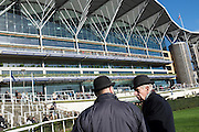 Ascot raceday,21st November 2016.Stewards in the parade ring.